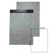 Курьер-пакет 300x400мм с карманом 60 мкм.